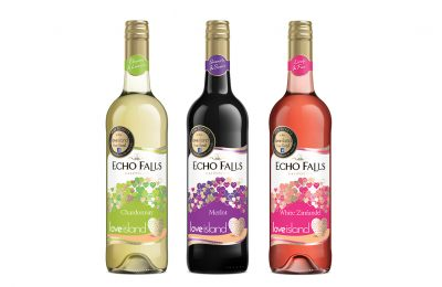 Accolade Wines has announced that its Echo Falls brand will be the drinks partner of what is likely to be the summer's hottest TV show, Love Island 2018, on ITV2, and will be offering the chance to win tickets to the live Love Island final.