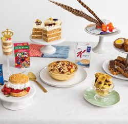 To celebrate the wedding of Prince Harry to American actress Meghan Markle – which takes place at 5.30am New York Time – Kellogg's NYC Café, in iconic Union Square, New York, will open its doors for early risers to watch the televised ceremony, enjoy a modern cereal-centric breakfast and even create their own Kellogg's-inspired fascinator from a cereal box.