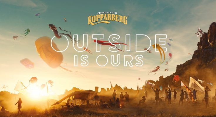 """Swedish pear cider brand Kopparberg has launched a £6m summer campaign, entitled """"Outside is Ours"""", which looks to unlock the feeling of the best of times outside with friends, and is supporting it with a new experiential platform, The Kopparberg Outsider."""