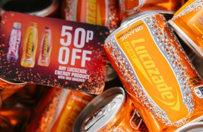 Lucozade Energy is delivering its biggest ever sampling activity across the UK this year as part of its wide-reaching Energy Beats Everything campaign. The brand's extensive sampling will see seven million ice-cold orange 150ml cans being circulated during this campaign will drive sales of Lucozade Energy by getting the drink into the hands of consumers.