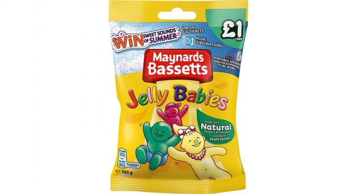 Mondelez International is launching a new on-pack promotion across its Maynards Bassetts candy bag range, offering over 1,000 music-related prizes to consumers. Running through to August 31st, the Maynards Bassetts Sweet Sounds of Summer promotion offers consumers the chance to win prizes including gig tickets, headphones and portable speakers. Mondelez says the promotion aims to tap into consumers' fun side over the summer season, particularly appealing to 20 to 45 year olds