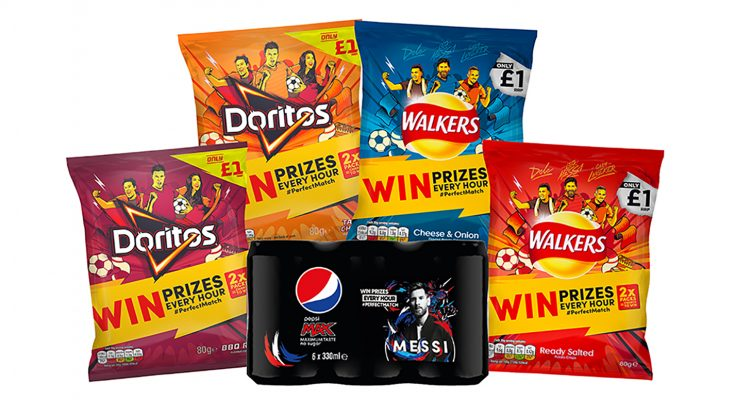 PepsiCo UK launches cross-brand 'Summer of Football