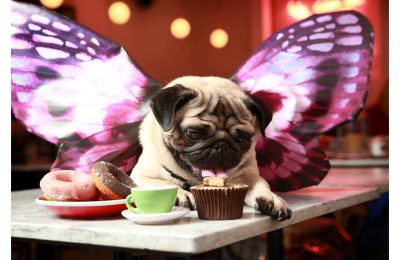 Mobile phone network Three will be running a pop-up 'All You Can Pug' brunch to celebrate Puggerfly, the star of its latest ad campaign and the world's first Augmented Reality (AR) pet.