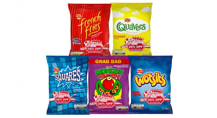 Walkers, the UK's leading savoury snacking brand, has launched an on-pack promotion offering shoppers 25% off Virgin Experience Days over the summer period.