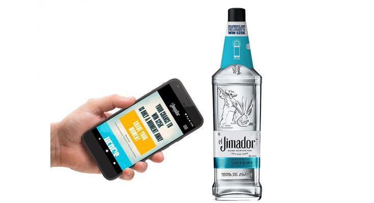 El Jimador, a leading premium tequila brand owned by US drinks giant Brown-Forman, is launching a 'smart' bottle and connected drinks coaster, using technology developed by Norwegian NFC experts, Thinfilm.