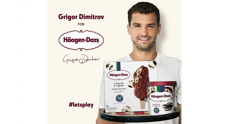 In 2018, Häagen-Dazs is returning to the All England Club as the Official Ice Cream of The Championships, Wimbledon, for the third year running. This year, in a celebration of brand ambassador Grigor Dimitrov's favourite ice cream flavour, Cookies & Cream, the brand is challenging the classic champion Strawberries & Cream to a battle to find out which will be the No.1 flavour of the summer.