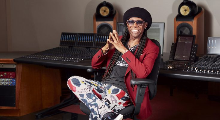 American Express has joined forces with leading figures from the worlds of music and food to launch 'Backed By', a nationwide initiative offering two members of the public the chance to win backing from music legend Nile Rodgers or culinary innovator Gizzi Erskine.