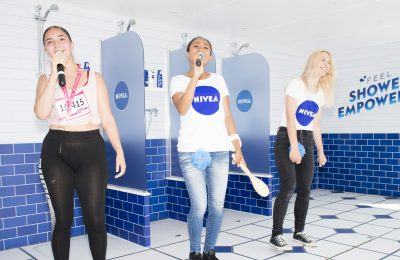 Skin care brand NIVEA has created 'Shower Empowered', an immersive 'shower karaoke' experience, as part of its partnership with Cancer Research UK's Race for Life.