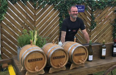 Calvet Wines has just launched its 'Rue du Calvet' campaign at the Blenheim Palace Flower Show this past weekend with an experiential activation featuring sampling and a celebrity chef.