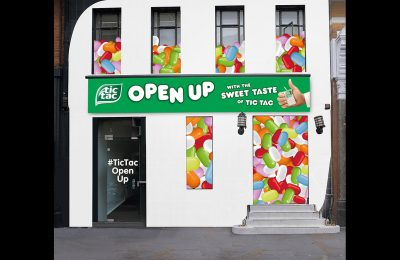 Tic Tac is launching a pop-up interactive experience, designed to encourage people to open up in a fun and light hearted way, in London's Covent Garden. The activity supports the brand's new 'Open up' marketing campaign.