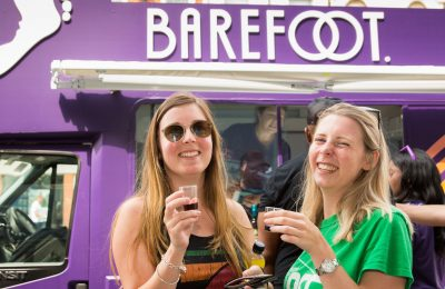 Barefoot Wine & Bubbly is again running its successful #BareYourSole roadshow campaign across the UK during July. Now in its third year, the activity, which sees a Barefoot van travel the country, encourages people to be proud to be different and to revel in their uniqueness.