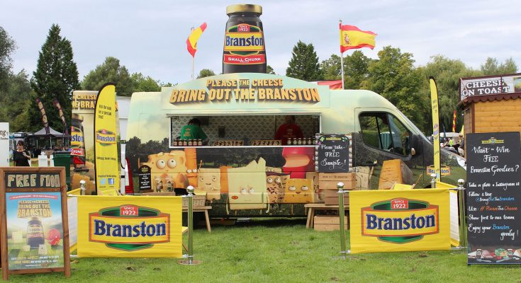 Branston, the UK's best-selling pickle brand, is to launch a UK sampling tour this month, as part of a wider marketing initiative to aimed at reinforcing the pickle brand's positioning as 'the perfect partner for cheese'.