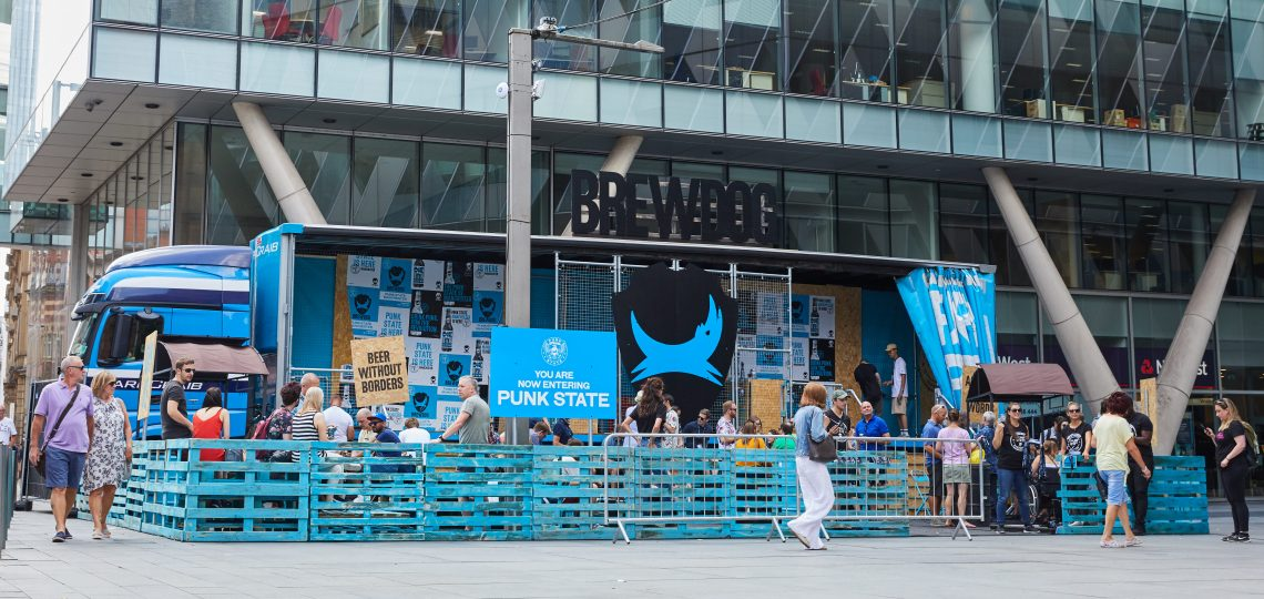 Independent craft brewer BrewDog is supporting its flagship beer, Punk IPA, with a series of 'Punk State' activations across key UK cities this summer.
