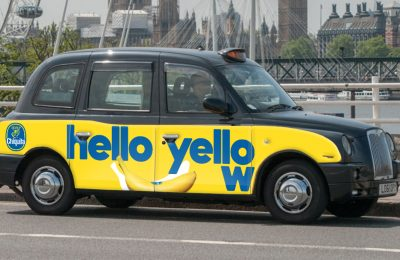 Chiquita Brands International has launched a major marketing campaign for its Chiquita bananas, kicking off the activity with the offer of a free ride for Londoners in its branded cabs.