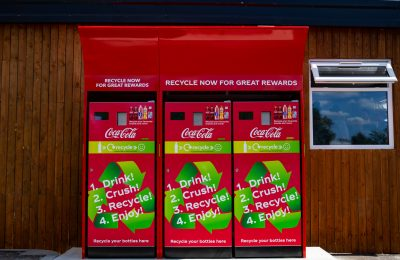 Coca-Cola Great Britain has partnered with Merlin Entertainments to offer people half price tickets to some of the UK's most popular family attractions in exchange for recycling their used plastic drink bottles via a new network of reverse vending machines installed at Merlin theme parks.