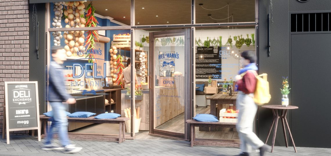 Hellmann's is bringing together food entrepreneurs from Britain, Berlin and California to serve up deli sandwiches to UK consumers as part of its Hellmann's Real Food Tour.