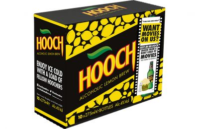 Flavoured Alcoholic Beverage brand Hooch is set to unveil its biggest ever promotion, which will see the brand giving away a movie with every purchase of a promotional bottle or pack. Consumers will have access to thousands of movies at the touch of a button, including many of the biggest cinema blockbusters.