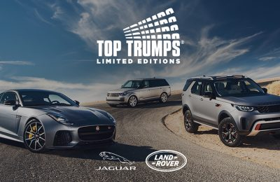 Jaguar Land Rover is driving footfall to its stand at this year's Goodwood Festival of Speed with a specially-commissioned exclusive digital Top Trumps App for Festival visitors, covering both the Jaguar and Land Rover marques.