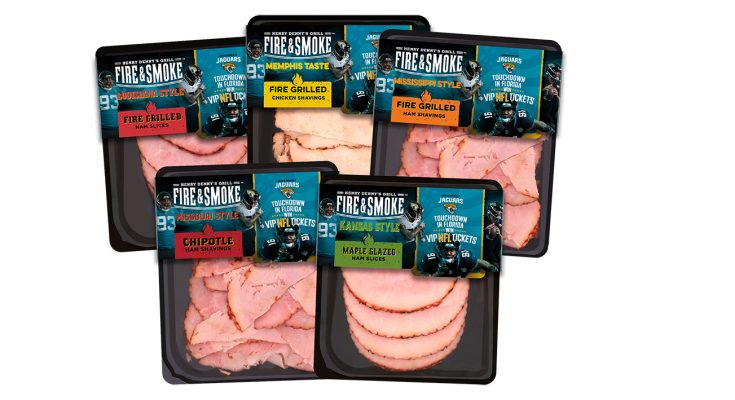 Kerry Foods is supporting its Fire & Smoke cooked meats range with a partnership with US NFL team the Jacksonville Jaguars, including a competition to win the star prize of a trip to Florida, plus a VIP experience at a Jacksonville Jaguars game and a behind-the-scenes stadium tour at TIAA Bank Field.