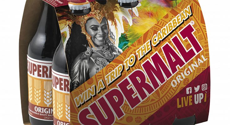 Malt drink Supermalt is launching a carnival-themed on-pack prize promotion, , offering consumers the chance to win one of three Caribbean holidays, with tickets to the Trinidad Carnival, or one of three European holidays, with tickets to the Rotterdam Carnival.