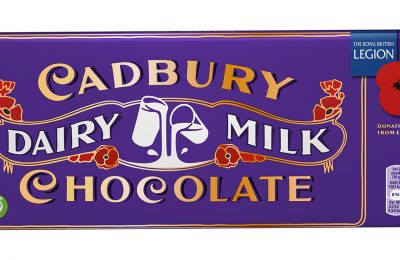 Cadbury has created a limited edition Cadbury Dairy Milk Remembrance Bar and is donating 30p per bar sold to the Royal British Legion in memory of WW1.