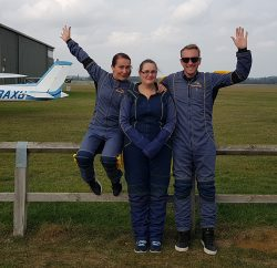 cloud 9 post skydive