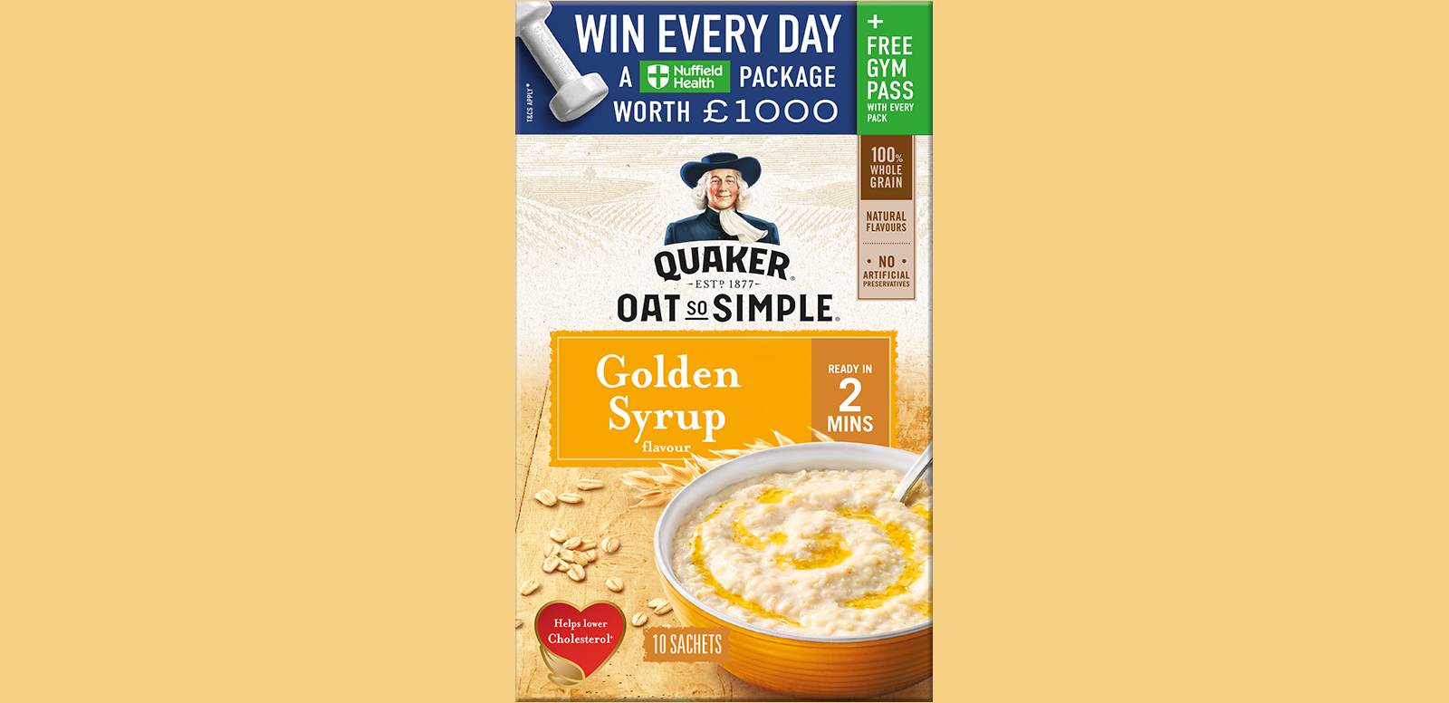 quaker oats sweepstakes 2019 quaker oats offers consumers the chance to win a nuffield 7022