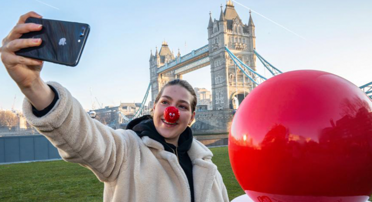giant red nose