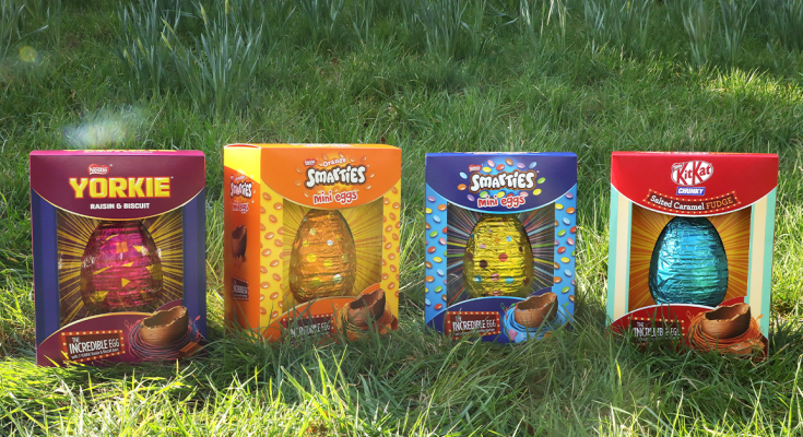 nestle easter eggs