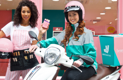 Benefit x deliveroo