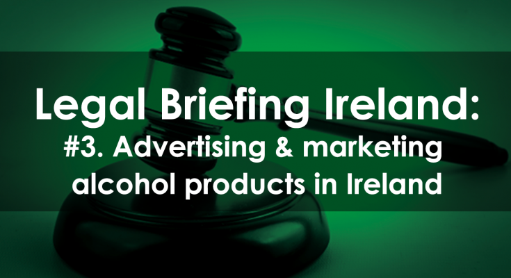 advertising alcohol products
