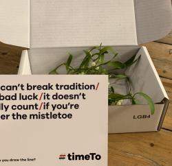 timeTo mistletoe