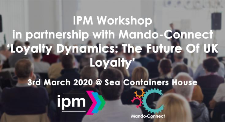 IPM Incentive, Prize & Loyalty Community workshop March 2020 (3)