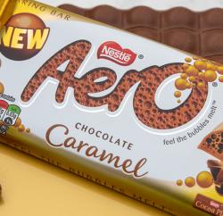 Nestle caramel chocolate