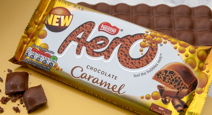 Nestle caramel chocolate