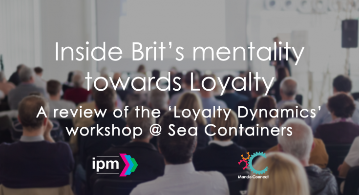 A review of the loyalty dynamics workshop