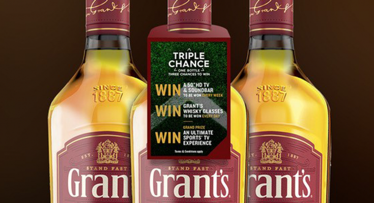 Activation - Grants Whiskey promotion - 29 April 2020