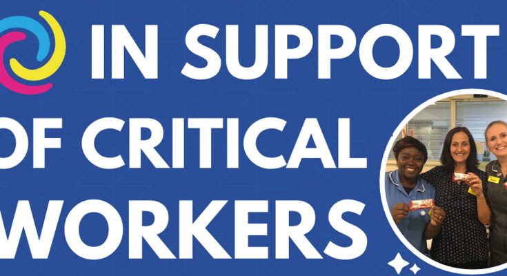 TWP - critical workers campaign