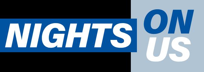 Nights on us - digital logo
